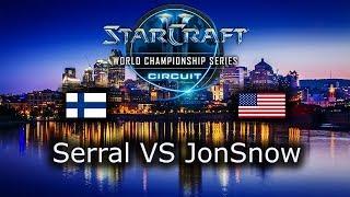 Serral VS JonSnow - ZvZ - Ro16 - WCS Montreal 2018 - polski komentarz