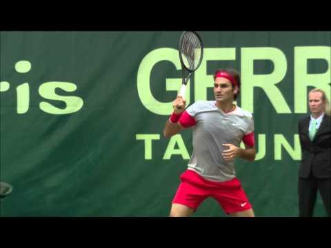 Gerry Weber Open 2014 Halbfinale: Kei Nishikori vs Roger Federer