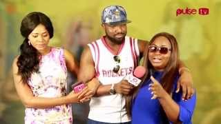 "Kafui danku, Roselyn and Elikem talks about ""i do"" movie"