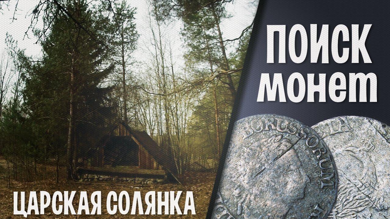 Поиск монет. ЦАРСКАЯ СОЛЯНКА (26.03.2015)