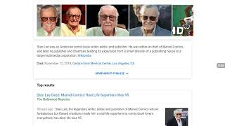 Stan Lee Dead Again!  Mandela Effect!
