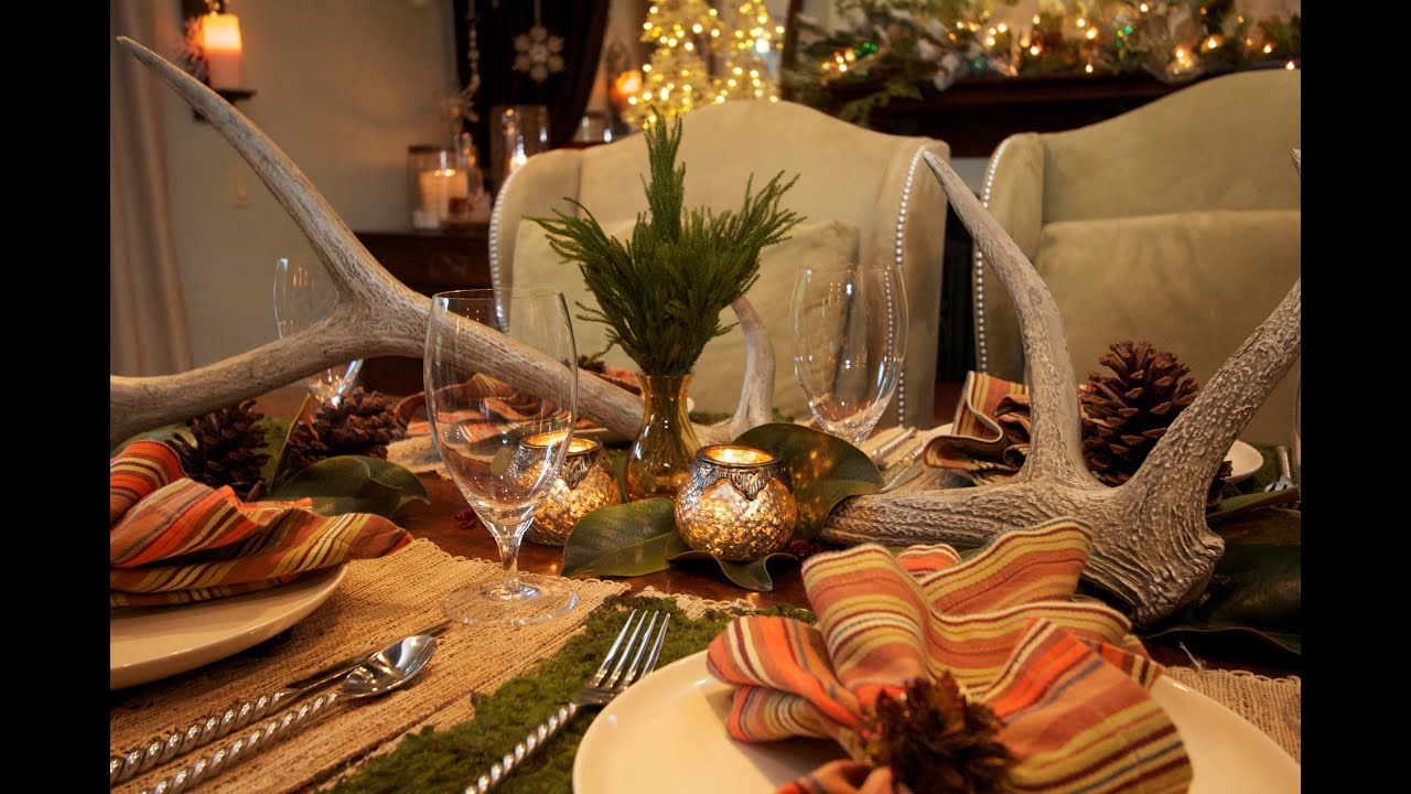 Interior design holiday decorating for fall youtube Christmas decorations interior design