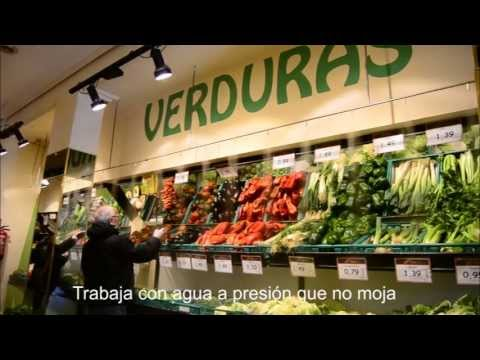 Humidificaci n mediante nebulizaci n para frutas y - Muebles para frutas ...