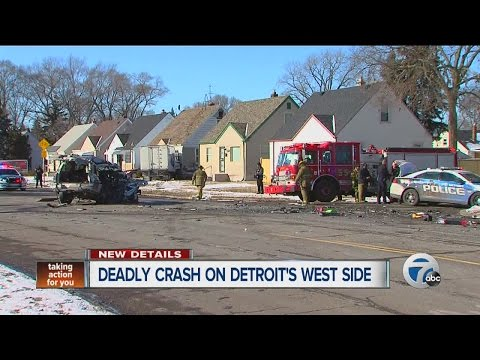 One dead, 2 injured after ice truck crashes into home on Detroit's west side