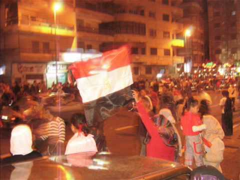Hassan Shehata & The Egyptian Champion Soccer Team Fans