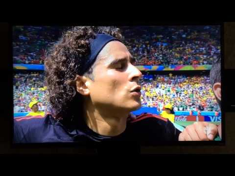 Mexico Vs Netherlands World Cup 2014 Mexico National Anthem video