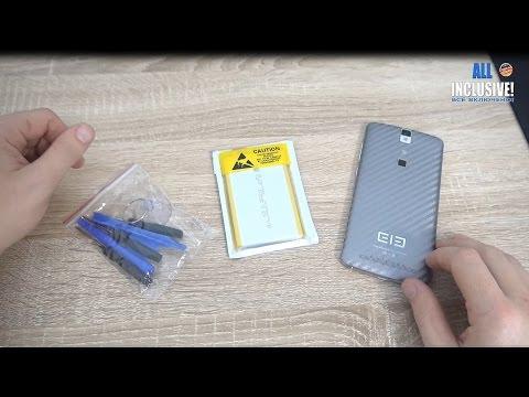 Замена аккумулятора на телефоне Elephone P8000