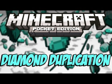 [0.9.0] HOW TO GET UNLIMITED DIAMONDS TUTORIAL! - Minecraft Pocket Edition 0.9.0!