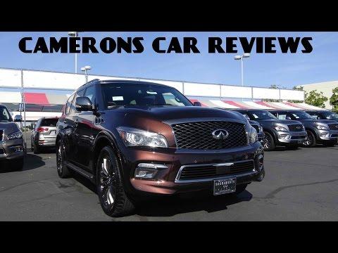 2016 Infiniti QX80 Limited 5.6 L V8 Review   Camerons Car Reviews