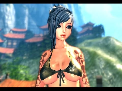 Blade and Soul (Free MMORPG China): Uncensored Korea Vs Censored China (Jin Female)