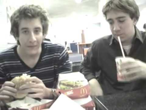MuggleCast Jamie eating Five Big Macs [Part 1]