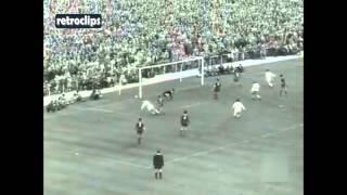 1957 Real Madrid vs Barcelona 3-0 (Raymond Kopa, Héctor Rial, Di Stefano) Partido Ida Liga