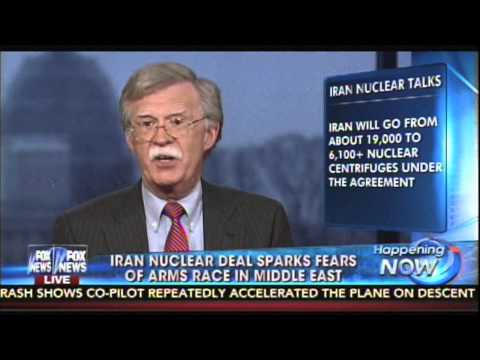 John Bolton on Framework of Atomic bomb that will spark an arms race