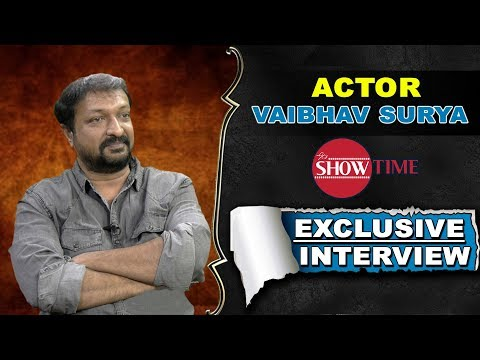 Telugu TV Actor Vaibhav Surya Exclusive Interview | It's Show Time | YOYO TV Channel