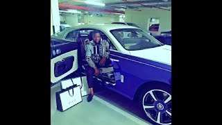 gucci award hushpuppi with aston martin ..much watch