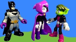 Imaginext Teen Titans GO Toy Video and Batman's Batcave