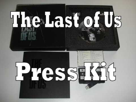 The Last of Us Press Kit Review & Unboxing (Playstation 3 / PS3)