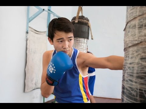 Знаменитая Абайская спортивная школа