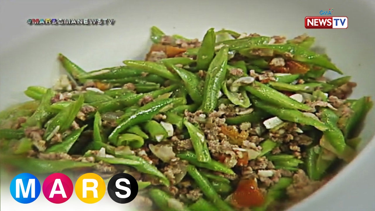 Mars Masarap: Ginisang Baguio Beans by Jeric Gonzales