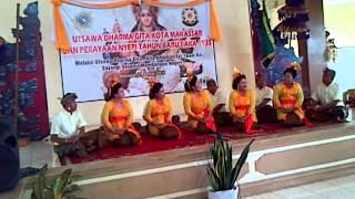 kidung bali tempek gowa di UDG Makassar