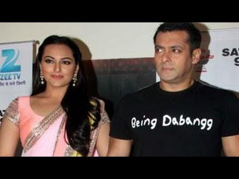 Salman Khan And Sonakshi Sinha Promote Dabangg 2 At Sa Re Ga Ma Pa