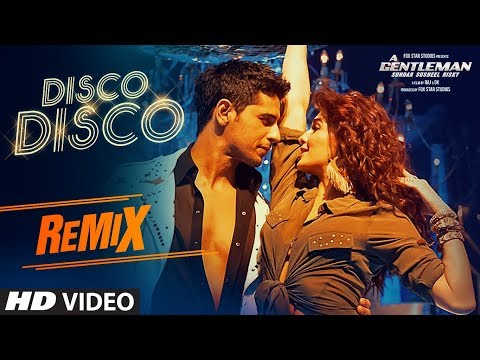 DISCO DISCO (REMIX): DJ SHADOW | A Gentleman | Sidharth, Jacqueline