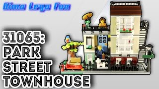 Lego 31065: Park Street Townhouse Review