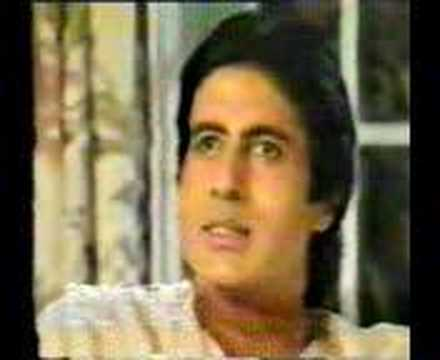 Amitabh Interview Clarifying Jumma Chumma Controversy video