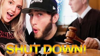 Alissa Violet & FaZe Banks Shut Down by Judge! Jake Paul Shop CANCELLED!