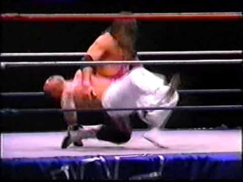 Denise Van Outen meets the WWF Superstars in 1995