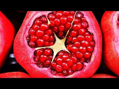 Iss 1 Granatapfel auf den leeren Magen jeden Morgen, schaue, was passiert