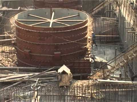 Bui Dam Power House Heavy Eqipments Arrive. video