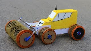 How to make a truck - road roller truck - Big Wheel