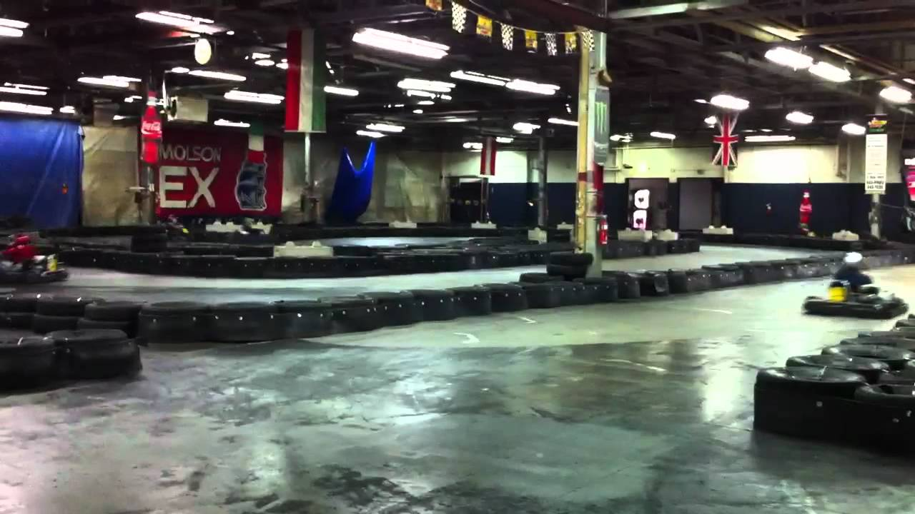 Top karting in gatineau youtube for Go kart interieur quebec