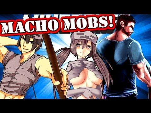 Minecraft MACHO MOBS! Manly Mob Talker!