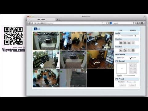 Mac HD Security Camera Viewer for Viewtron Surveillance DVR
