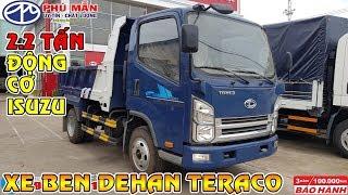 Xe ben Isuzu 2.2 tấn Teraco Dehan - Đánh giá sơ bộ xe tải ben DEHAN TERACO