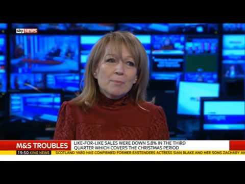 Rita Clifton - Sky News Tonight - Marks and Spencer