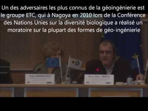 CHEMTRAILS SKYGUARDS 8&9 avril 2013 Wayne Hall au Parlement Europen vostfr