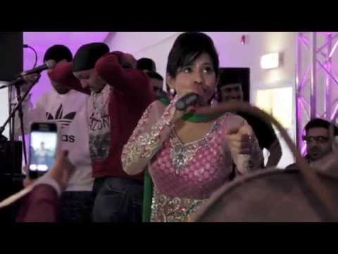 Miss Pooja Live Uk - The Bhangra All Stars Band video