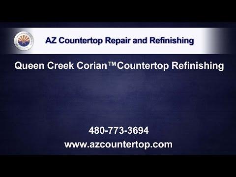 Queen Creek Corian™ Countertop Refinishing