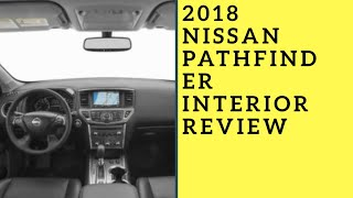 2018 Nissan Pathfinder SV interior review