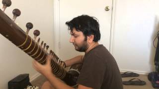 Hindi Film Songs on Raga Yaman on Sitar