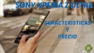 Sony Xperia® Z Ultra // Caracteristicas // Precio