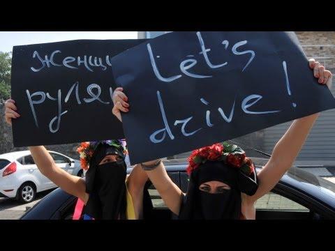 Saudi Women Protest Driving Ban