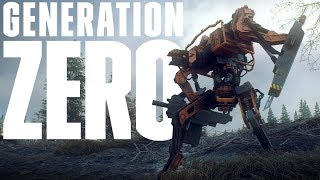 These Giant Robots Have ROCKET LAUNCHERS? - New Bipedal Robots Found! - Generation Zero Gameplay