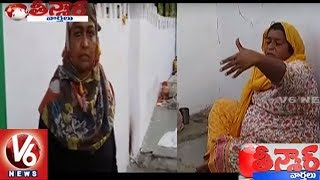 Rich and Educated Women Beggars Found Ahead Of Ivanka's Hyderabad Visit | Teenmaar News