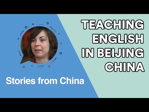 Teaching English in Beijing, China with EF English First - Teacher Molly