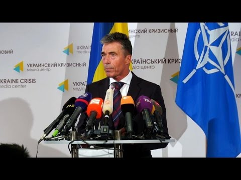 Rasmussen: NATO working 'more closely' with Ukraine