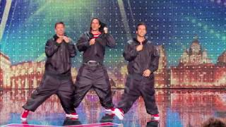 STARBUGS   dancing sexy crazy guys ! France's Got Talent 27th october 2015